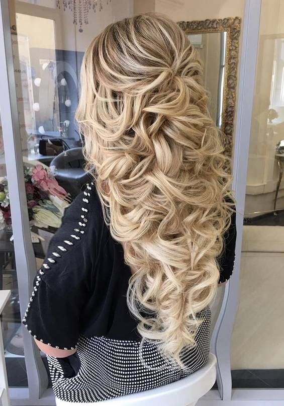 Wedding Hairstyle For Long Hair Long Wedding Hairstyles Bridal Updos Via Elstile Www Deerpearlflow Weddingtrend Home Of Bridal Trends The Hottest New Wedding Trends Straight From The Experts