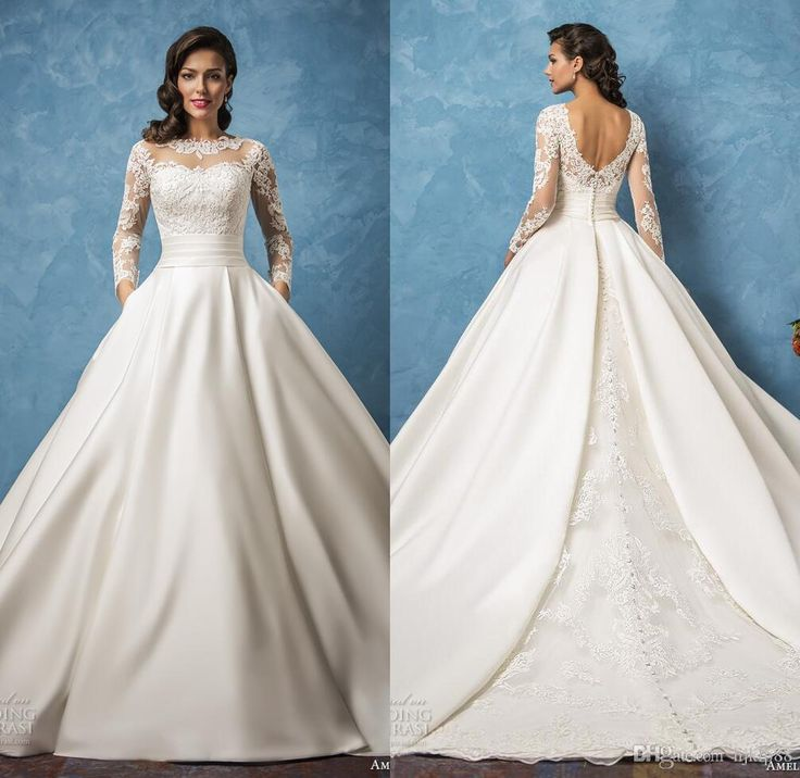 Ball Gown Wedding Dresses For Bride 2017 New Arrival Amelia