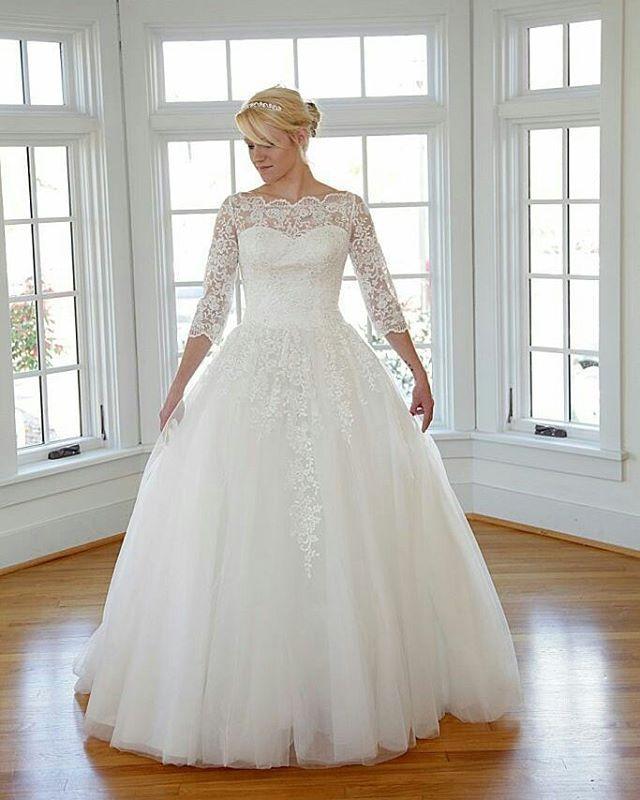 Ball Gown Wedding Dresses For Bride : Modest wedding dresses ...