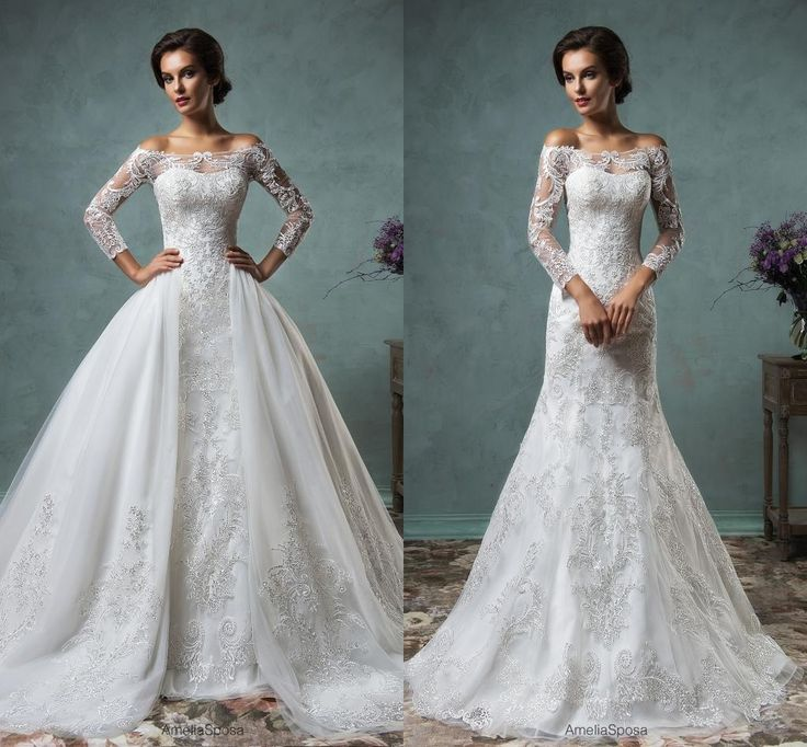 ball-gown-wedding-dresses-for-bride-pretty-dresses-amelia-sposa-2016 ...