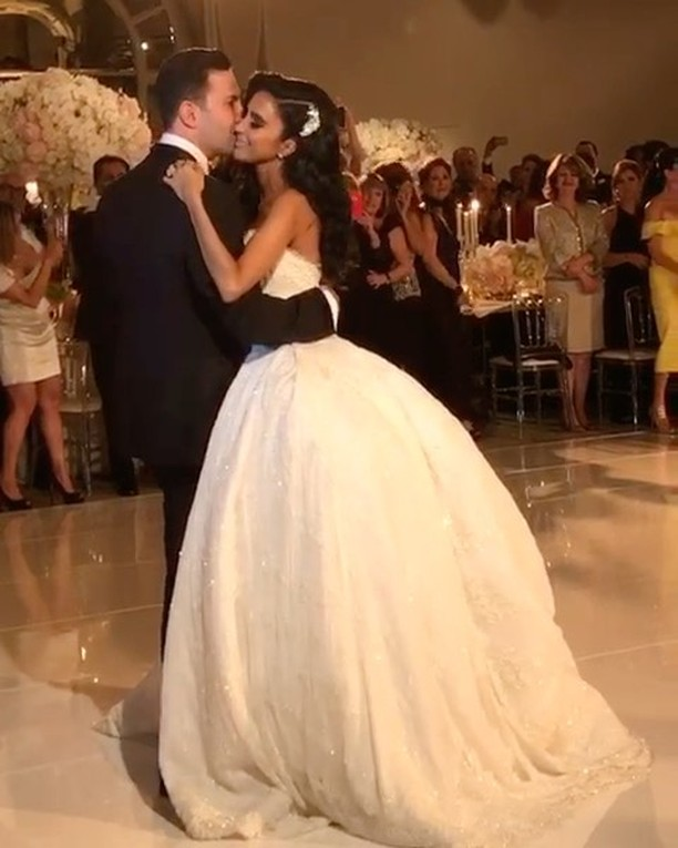 Bride dress ideas the gorgeous lillyghalichi wearing for Ryan and walter wedding dress prices
