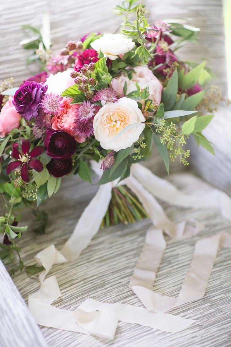 English Garden Wedding Bouquet