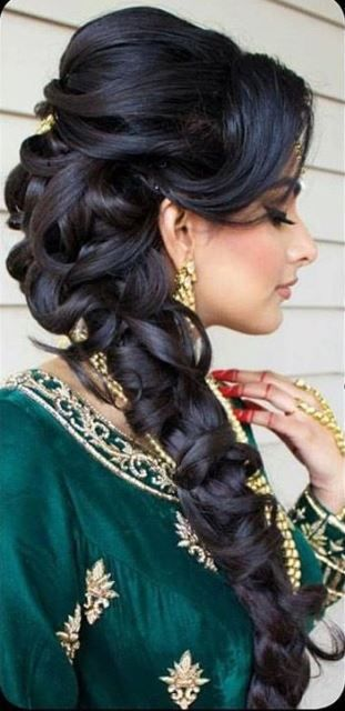 Wedding Hairstyle For Long Hair 15 Indian Wedding Hairstyles For A  Traditional Look