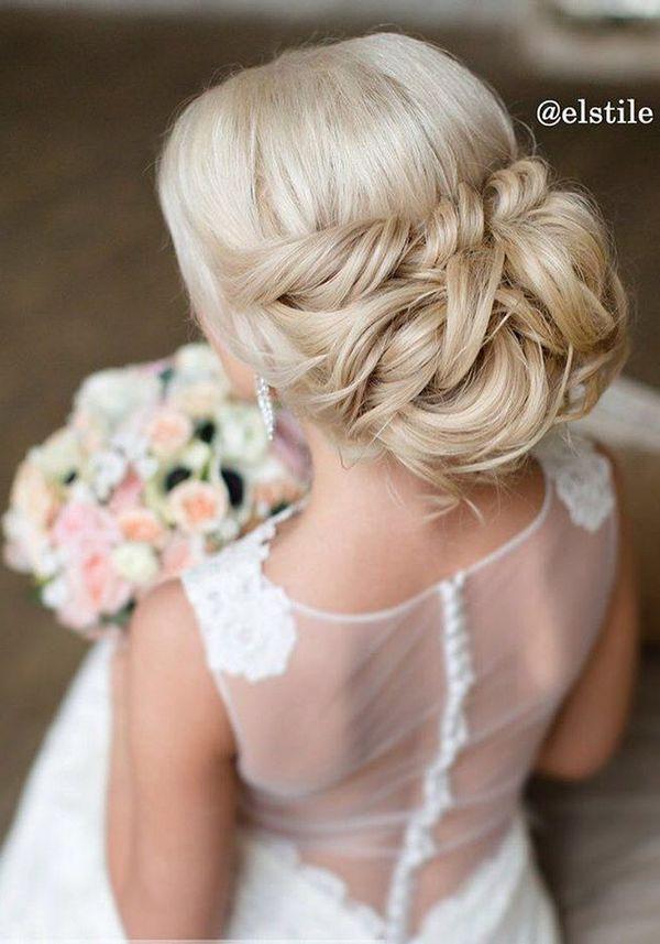 Wedding Hairstyle For Long Hair Half Updo Braids Chongos Updo