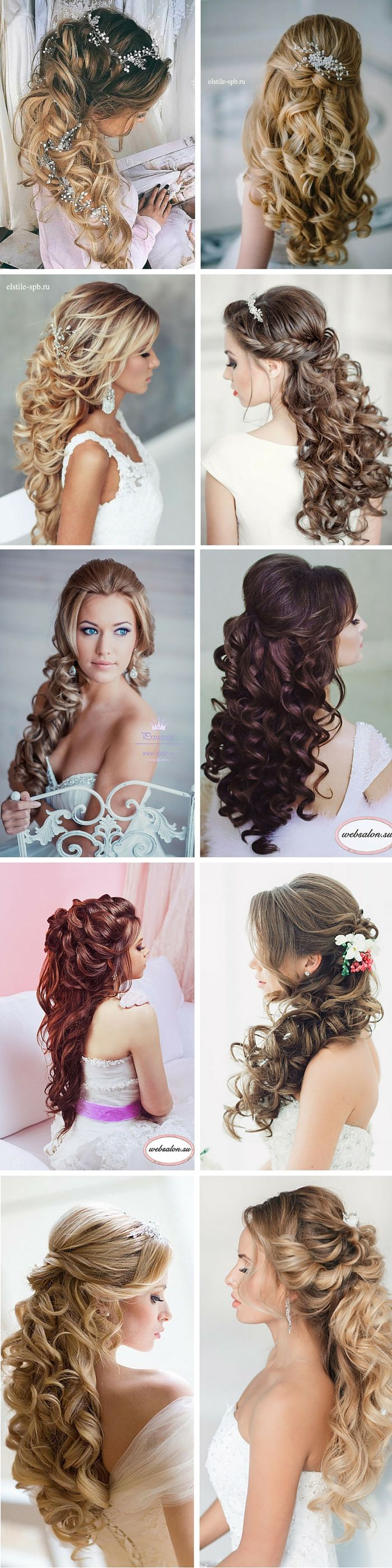 Wedding Hairstyle For Long Hair Peinados Weddingtrend Home Of Bridal Trends The Hottest New Wedding Trends Straight From The Experts