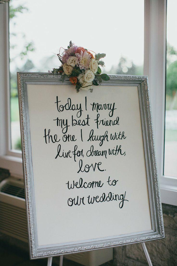 Wedding Quotes Wedding Sign Inspiration Diy Your Wedding