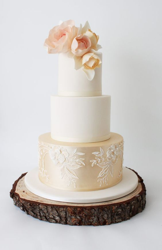 Wedding Cakes : Featured Cake: Faye Cahill Cake Design; Wedding cake ...