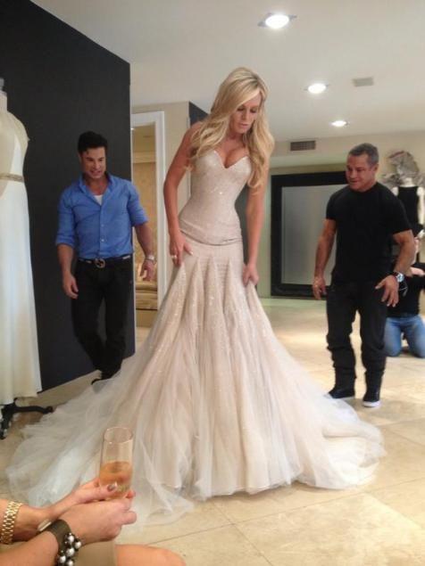 Ball Gown Wedding Dresses For Bride : Beautiful Mark Zunino wedding ...