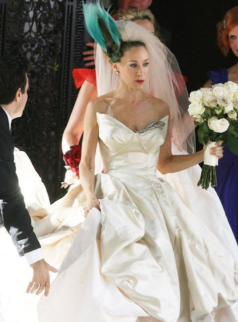 Carry Bradshaw Wedding Dress.Ball Gown Wedding Dresses For Bride Carrie Bradshaw Outfits Jpg