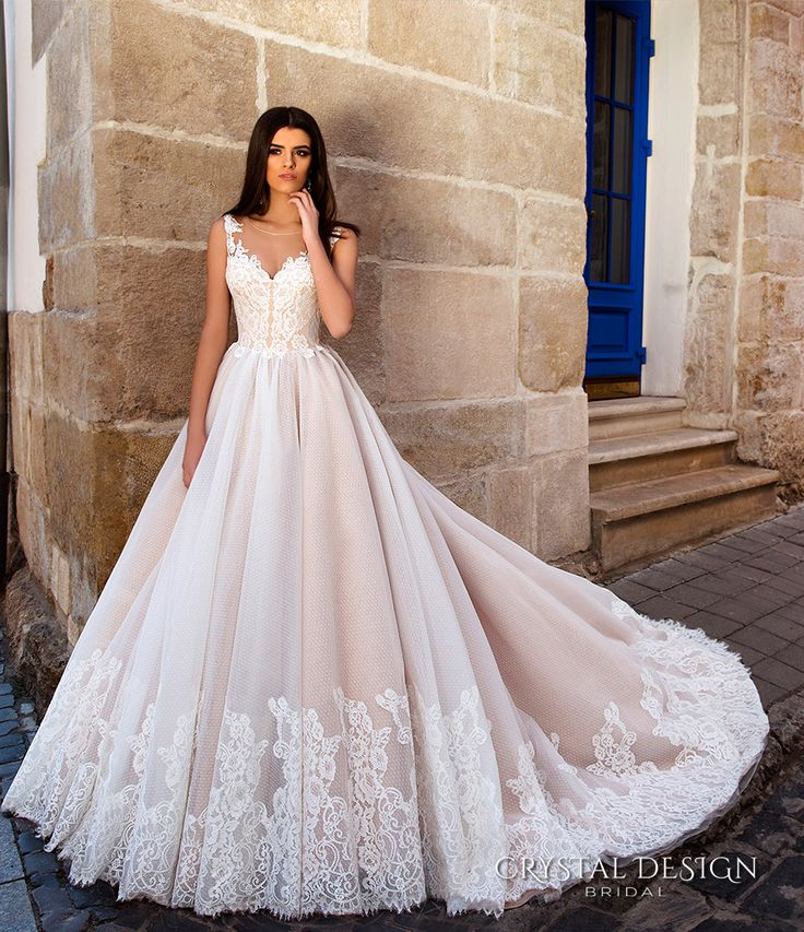 Ball Gown Wedding Dresses For Bride : crystal design bridal 2016 ...