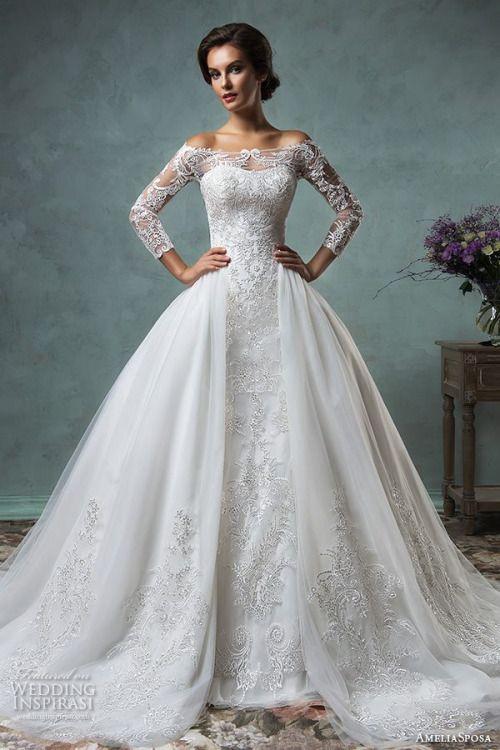 Ball Gown Wedding Dresses For Bride : Wedding Inspirasi @ Tumblr ...
