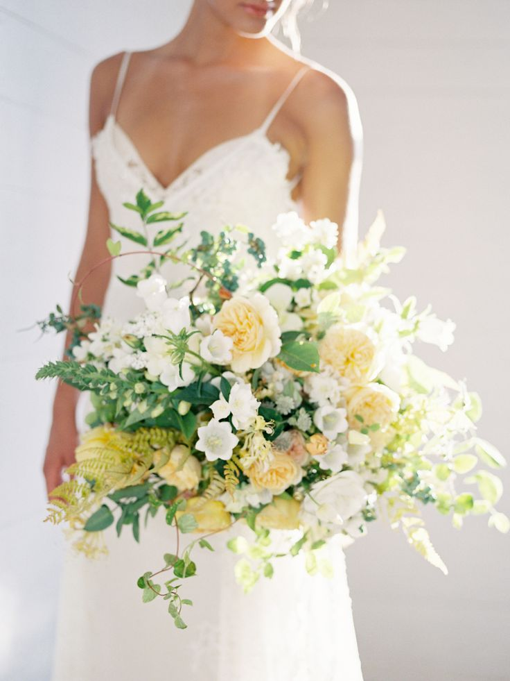 Wedding Bouquets Inspiration Bright Yellow And Greenery