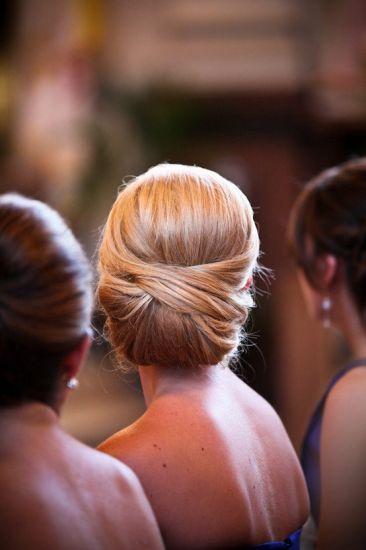 Wedding Hairstyle For Long Hair Elegant Low Bun Is This