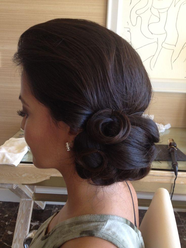 Wedding Hairstyle For Long Hair Elegant Wedding Updo By Las Vegas