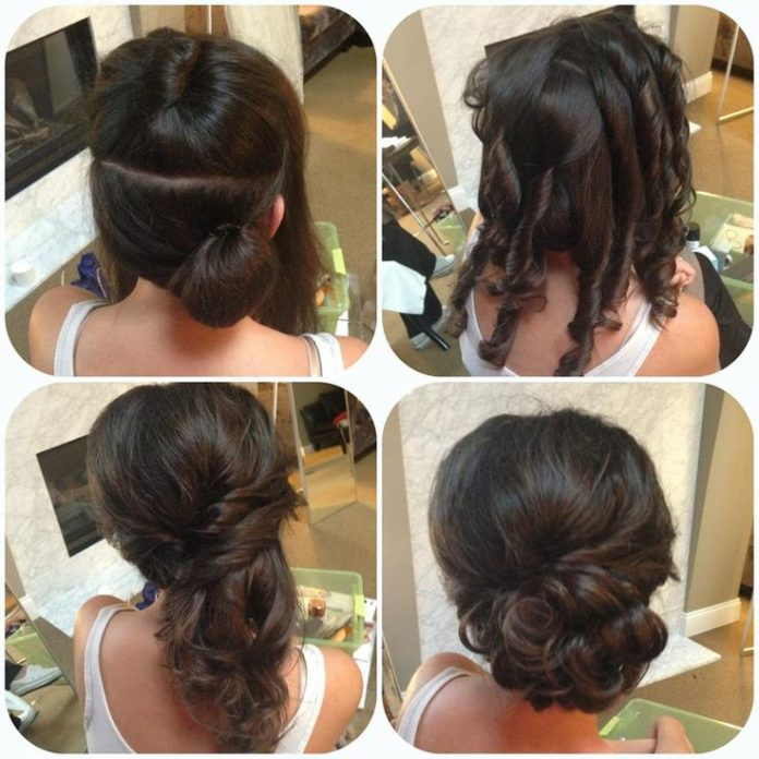 Wedding Hairstyle For Long Hair Side