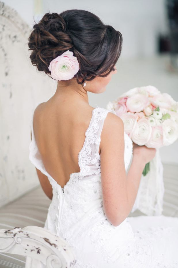 Wedding Hairstyle For Long Hair Sophisticated Wedding Hairstyle