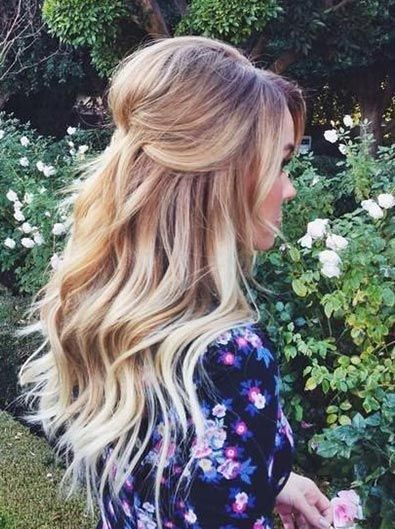 Best 25 Half Up Down Wedding Hair Ideas On Pinterest