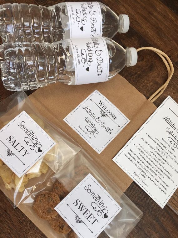Wedding Gift Bag Ideas. Tips For Perfect Welcome Bags. Full Size Of ...