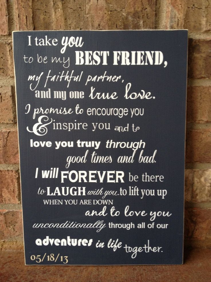 Wedding Quotes : cool christian wedding vows best photos ...
