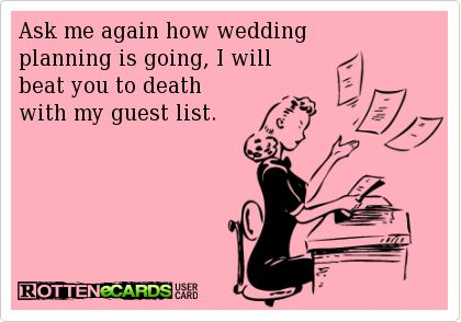 Wedding Planning Meme.Wedding Quotes Funny Wedding Guest List Meme More Awesome Wedding