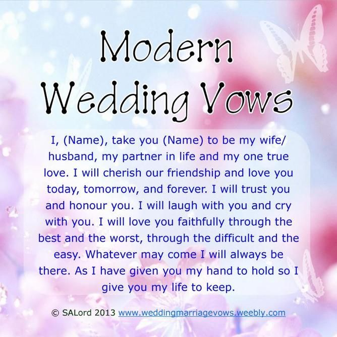 The 25 Best Funny Wedding Vows Ideas On Pinterest