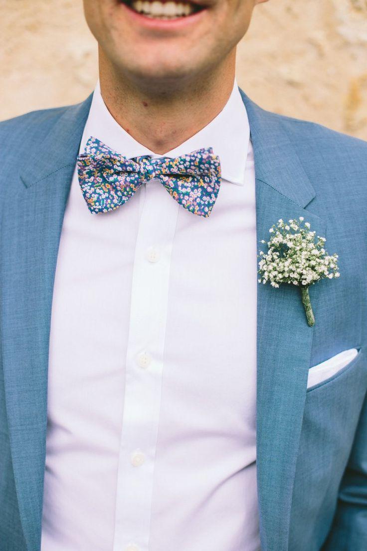 wedding quotes mari costume bleu chemise noeud. Black Bedroom Furniture Sets. Home Design Ideas