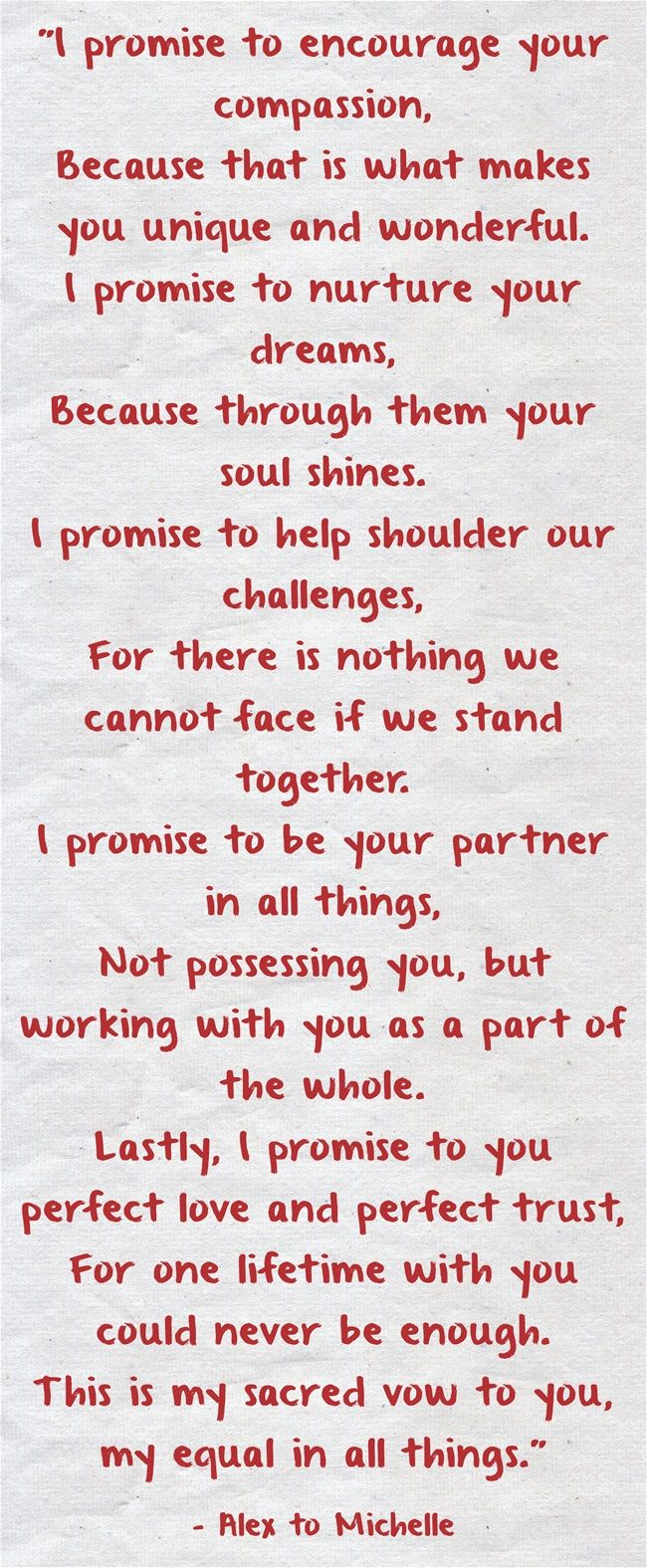Wedding quotes wedding vows 25 heart melting real couple wedding picture junglespirit Image collections