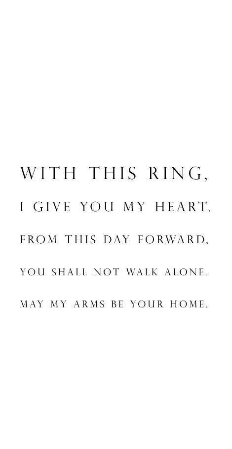 Elegant Best 25+ Vows Ideas On Pinterest | Wedding Vows To Husband, I Promise You  And Wedding Vows That Make You Cry Ideas