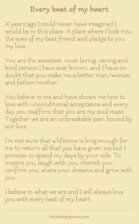 Best 25 Personal Wedding Vows Ideas On Pinterest