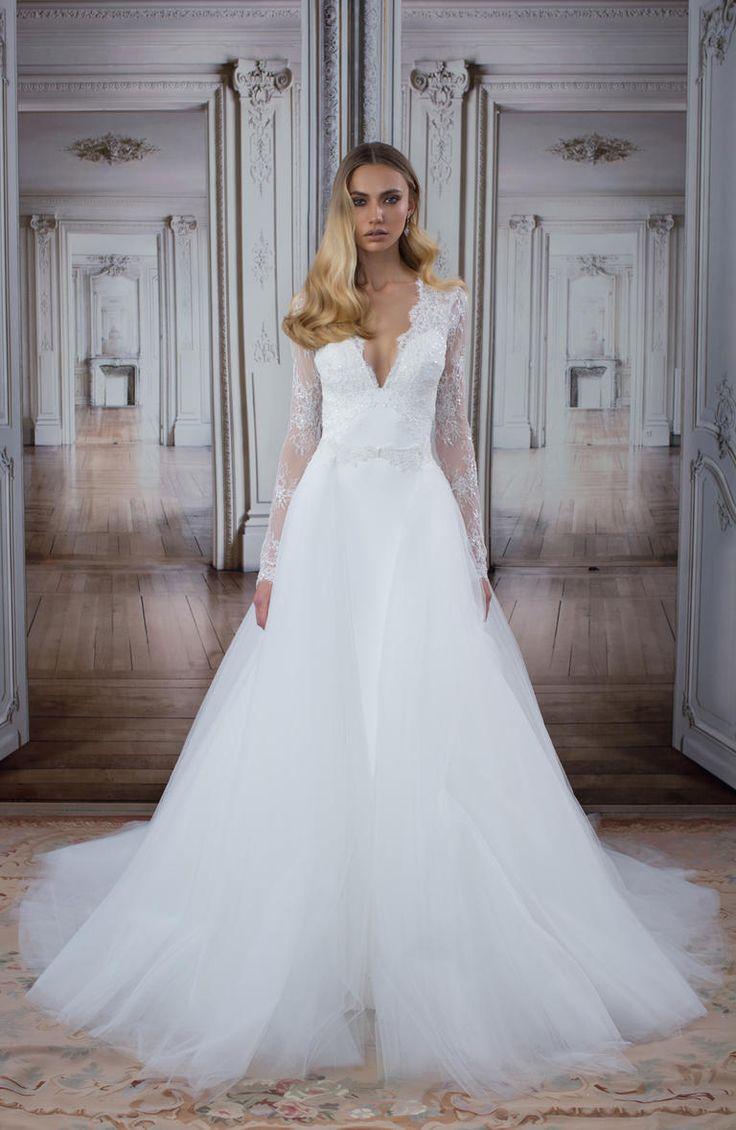 Ball Gown Wedding Dresses For Bride Pnina Tornai Dress