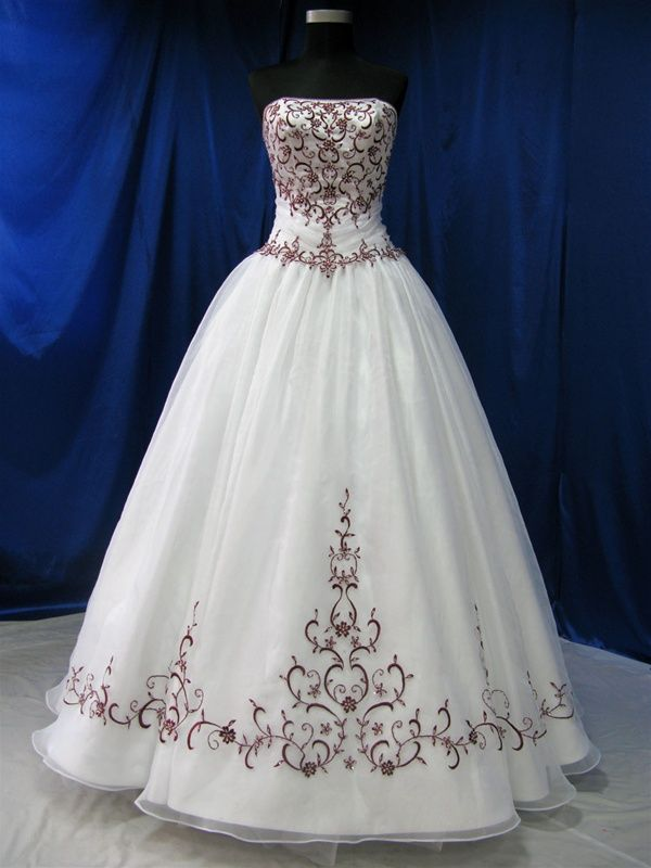 Ball Gown Wedding Dresses For Bride Red And White Wedding Dress Available In Every Color Weddingtrend Home Of Bridal Trends The Hottest New Wedding Trends Straight From The Experts