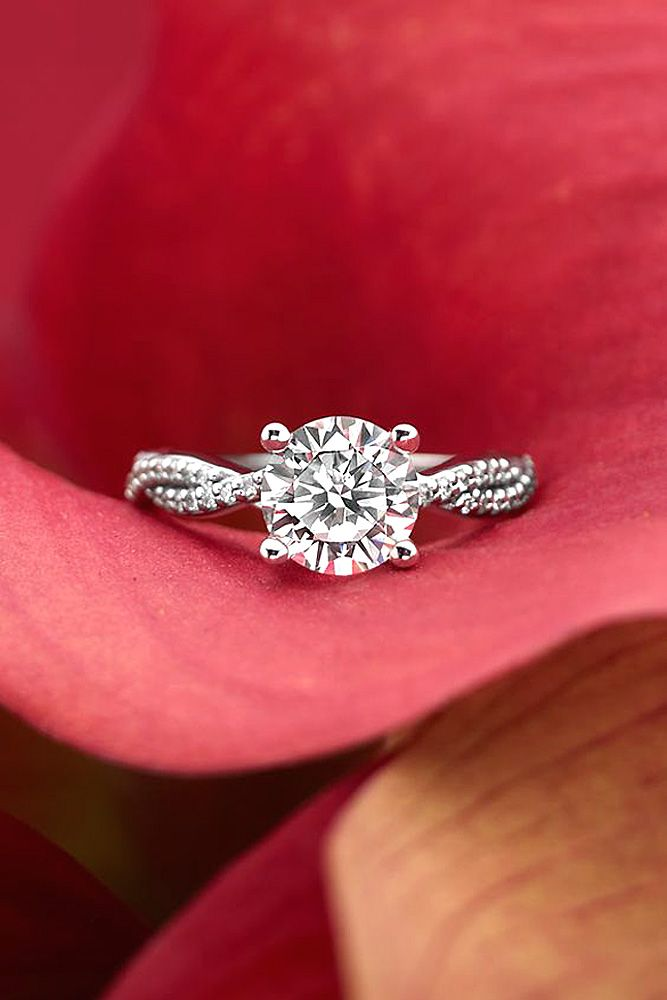 Engagement Rings Ideas : Simple Engagement Rings For Girls Who ...