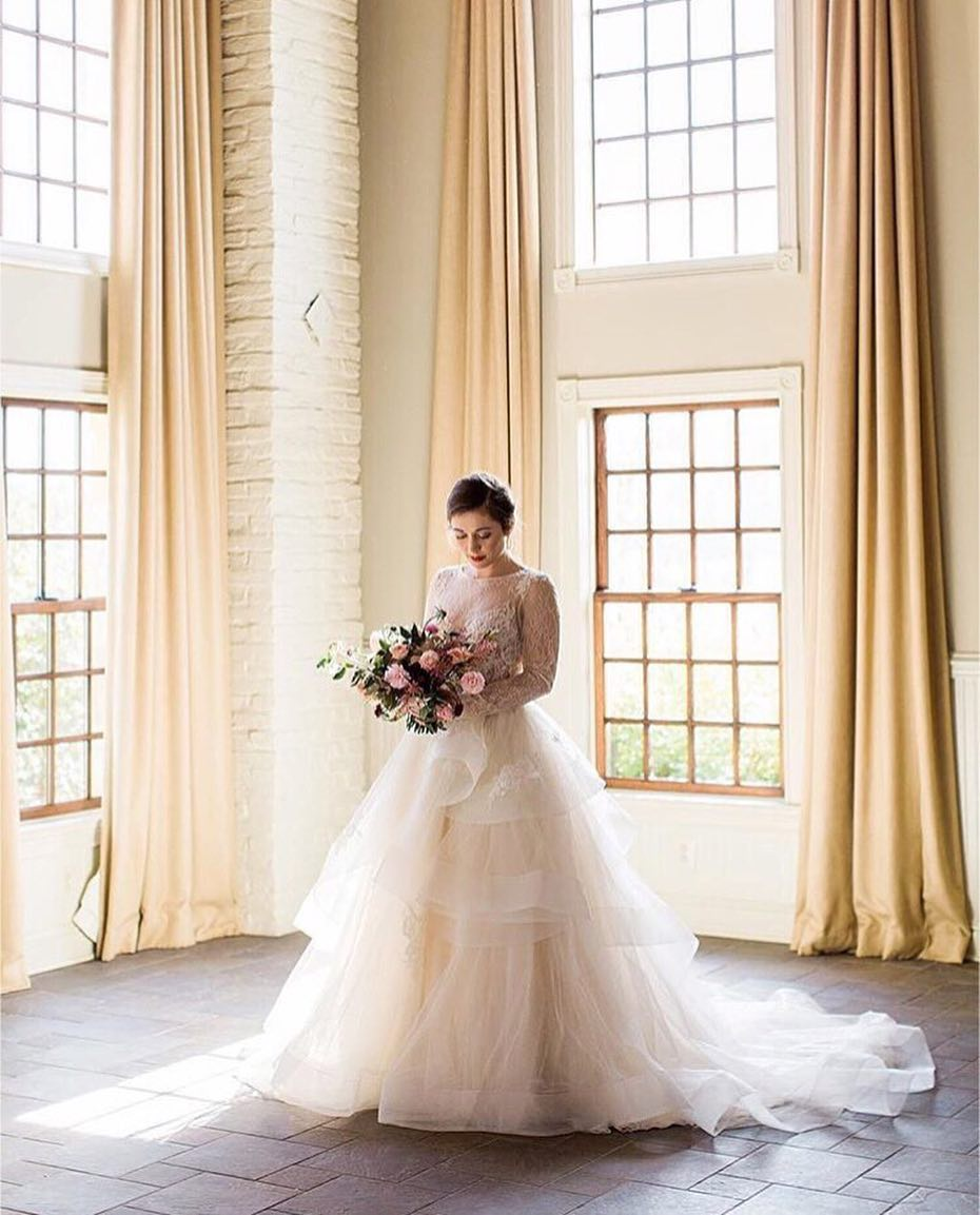 Wedding Dress Inspiration : And she lit up the room every time she ...