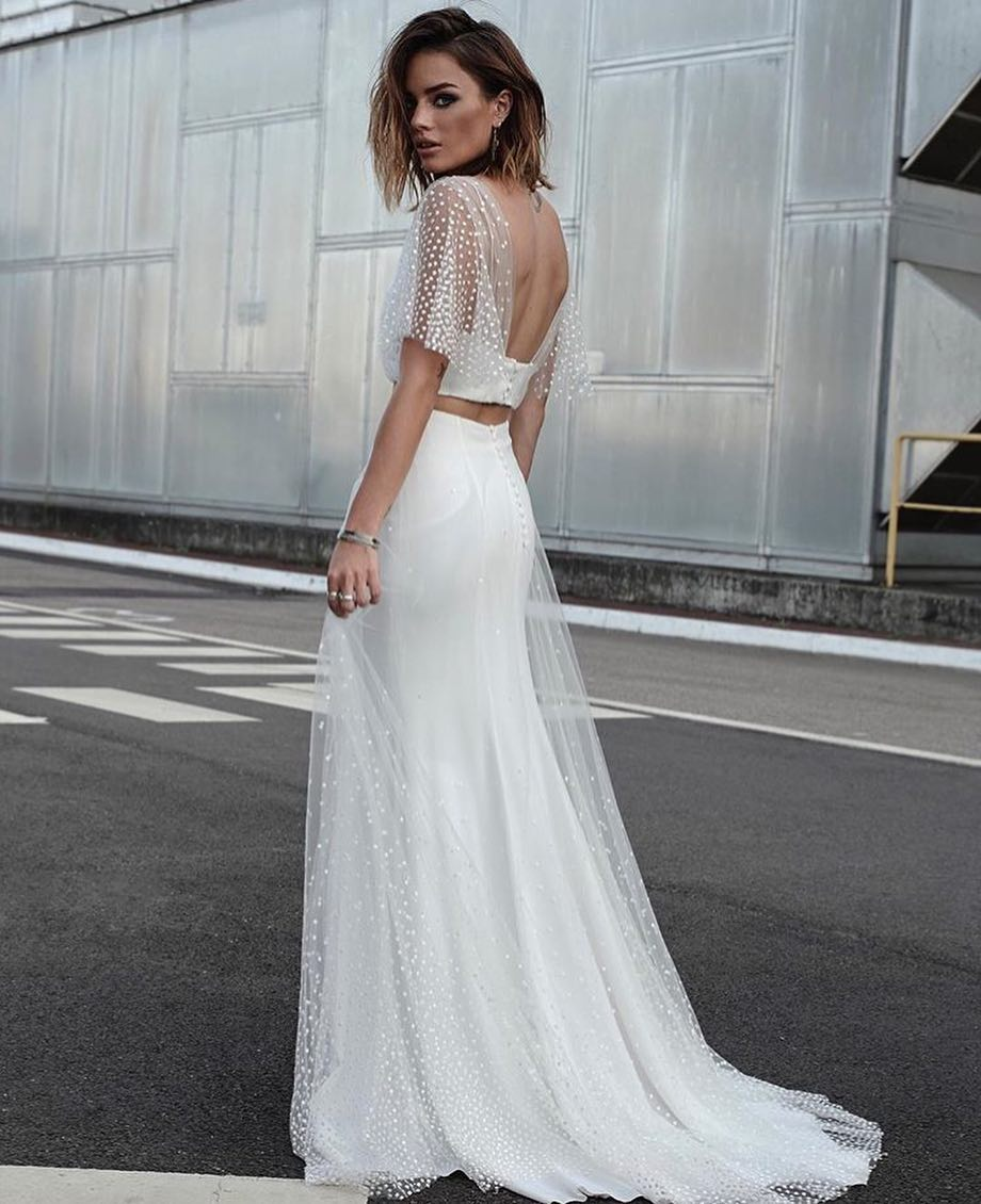 Wedding Dress Inspiration : When two become one YES to this ...