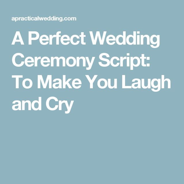 wedding quotes a perfect wedding ceremony script to make you