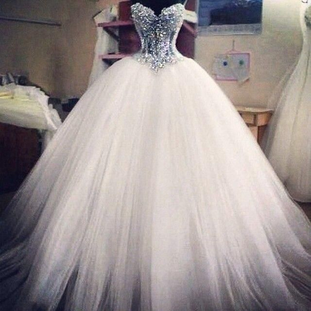 Ball Gown Wedding Dresses For Bride : 2015 Ball Gown Wedding Dresses ...