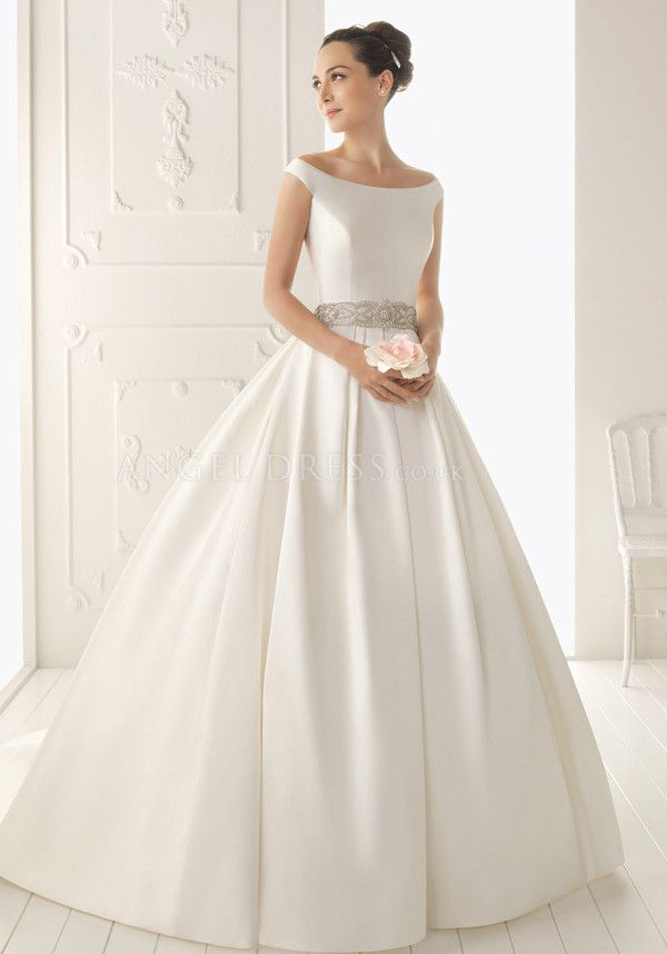 Ball Gown Wedding Dresses For Bride : Ball Gown Off the Shoulder ...