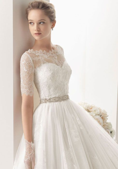 Ball Gown Wedding Dresses For Bride : elegant wedding dress tumblr ...