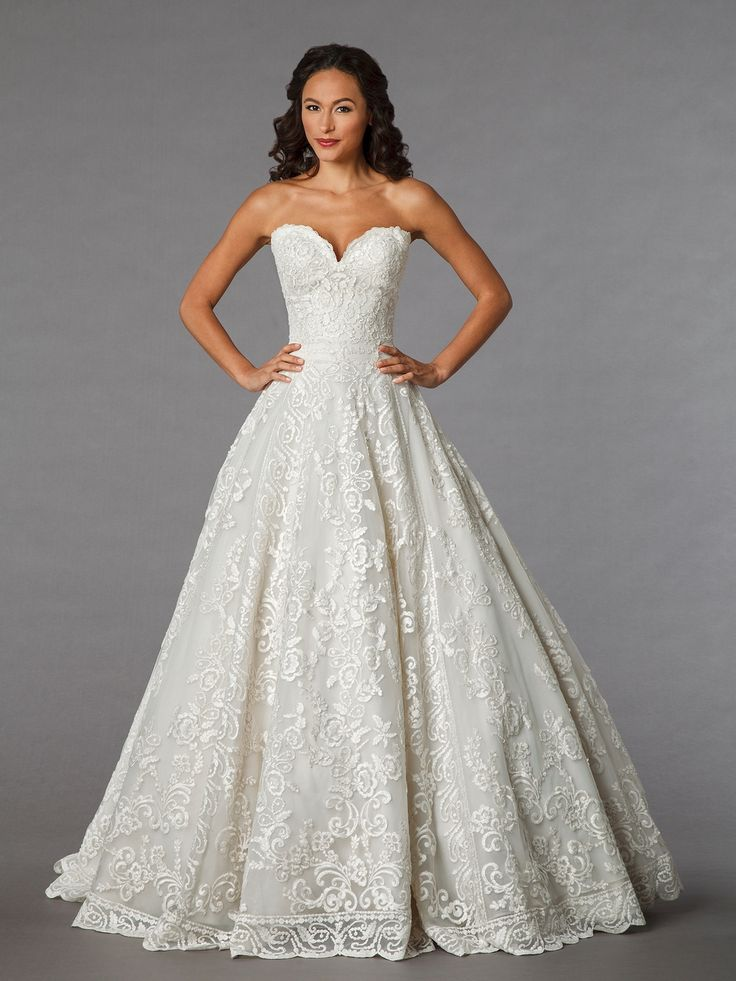 Ball Gown Wedding Dresses For Bride : Glamorous ball gowns, high ...