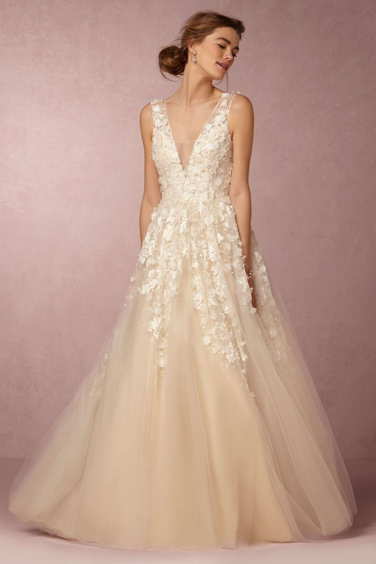 Ball Gown Wedding Dresses For Bride : lace & tulle wedding dress ...