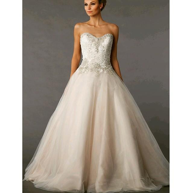 Bride Dress Ideas : Danielle Caprese for @kleinfeldbridal 113078 ...