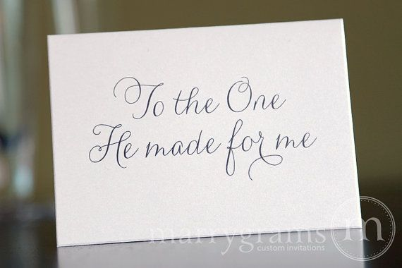 Wedding Quotes : Wedding Card to Your Bride or Groom - To ...
