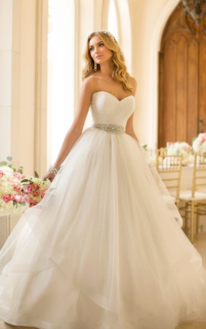 Ball Gown Wedding Dresses For Bride : Stella York Style 5859. This ...