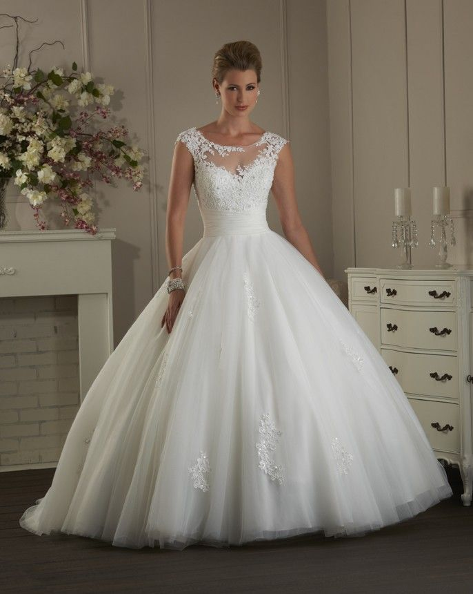 Ball Gown Wedding Dresses For Bride : Style 403 is modern a fairy ...