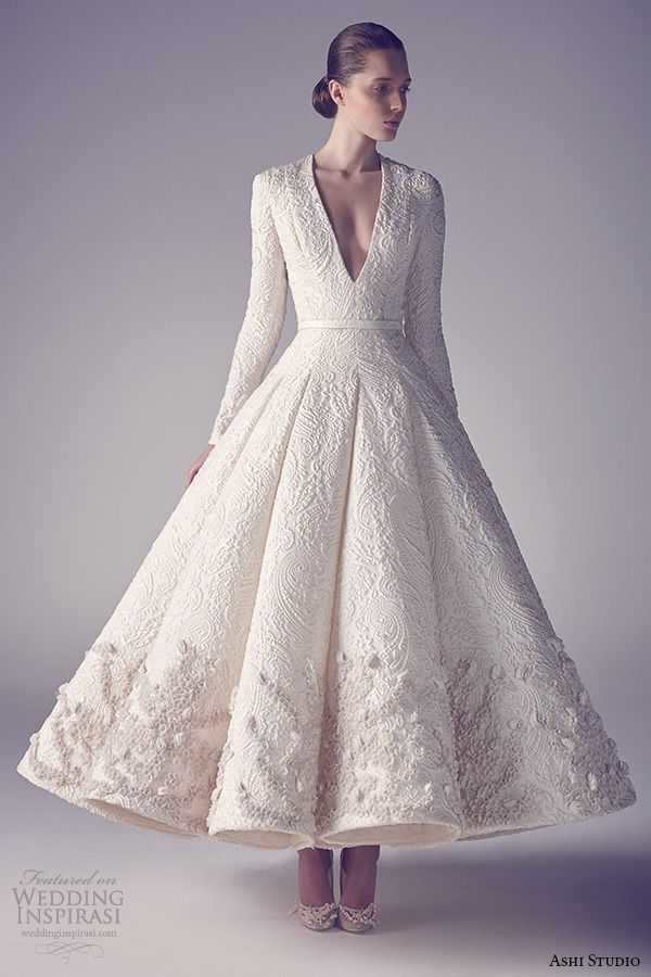 Ball Gown Wedding Dresses For Bride Midcalfballet Length Midcalf