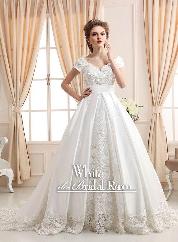 Ball Gown Wedding Dresses For Bride Princess Modest Wedding
