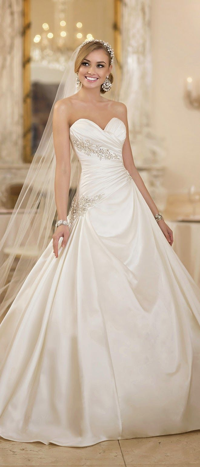 Ball Gown Wedding Dresses For Bride : Stella York Spring 2015 Bridal ...