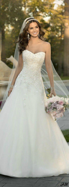 Ball Gown Wedding Dresses For Bride : Stella York - Spring 2015 ...