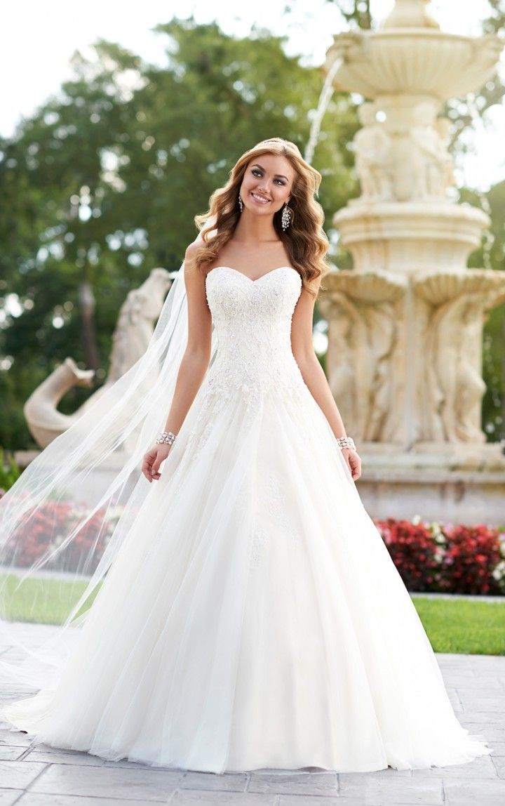 Ball Gown Wedding Dresses For Bride : To see more gorgeous Stella ...