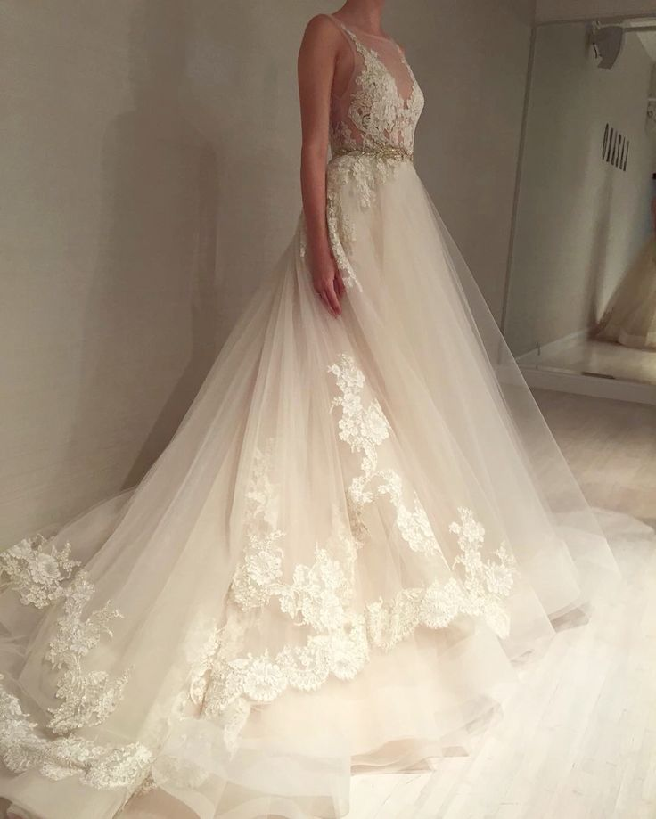 Ball Gown Wedding Dresses For Bride : Wedding gown by Lazaro | Style ...